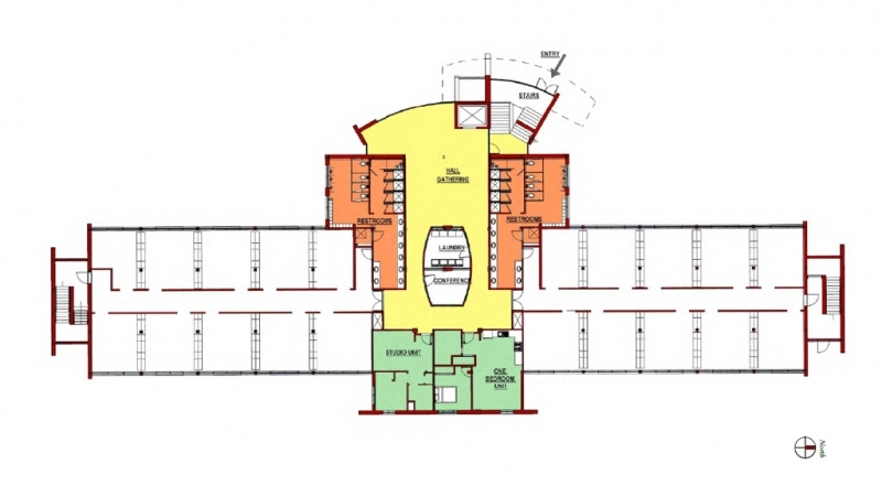Floor Plan - Dormitory Level
