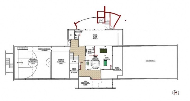 Floor Plan - Basement Level