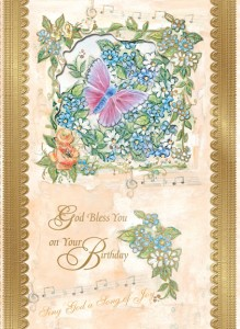 Sing God a Song of Joy - front of card