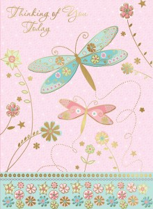 Thinking of You Today - front of card
