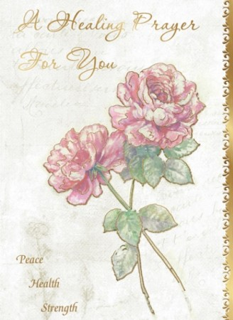 A Healing Prayer for You - front of card