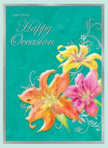 Happy Occasion front of card