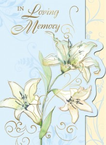 In Loving Memory (ML) - front of card - League of Saint Anthony Memorial Enrollment Card