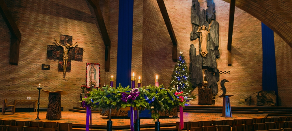 St Lawrence Seminary Chapel - Christmas