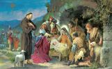 St. Francis and the Christmas Creche